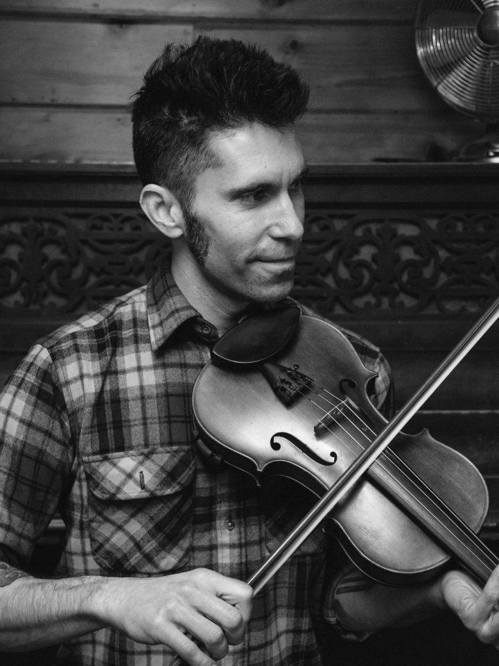 Brandon Olszewski on fiddle